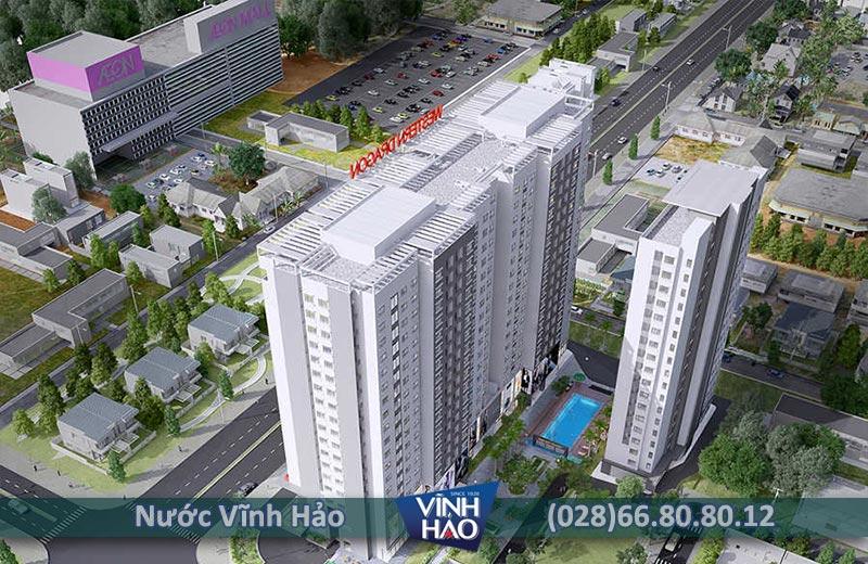 Đại lý nước Vĩnh Hảo tại quận Bình Tân