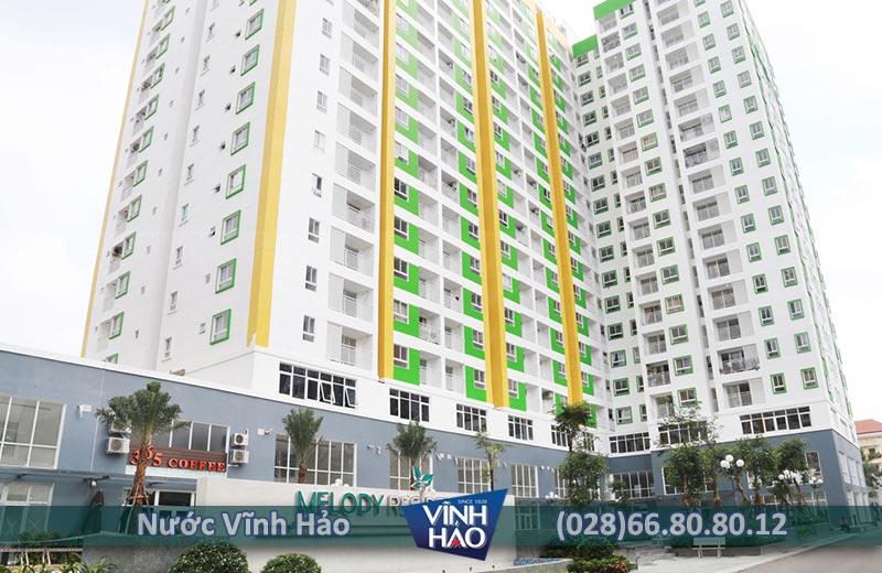 Đại lý nước Vĩnh Hảo tại quận Tân Phú